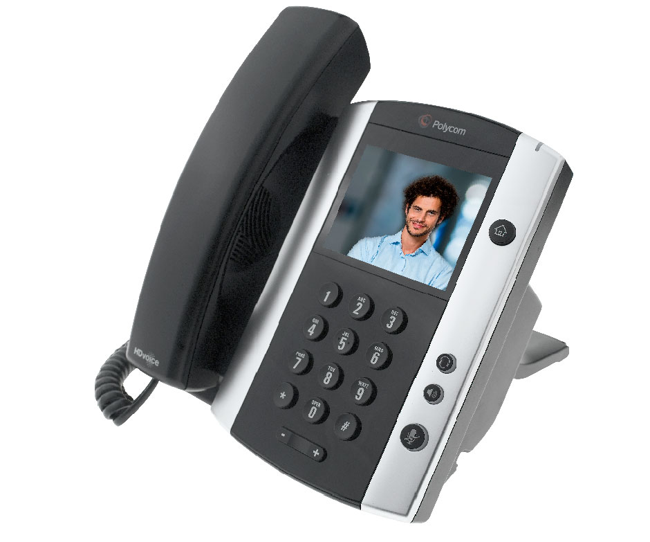 visiophonie sur ip avec le t l phone polycom vvx 500. Black Bedroom Furniture Sets. Home Design Ideas