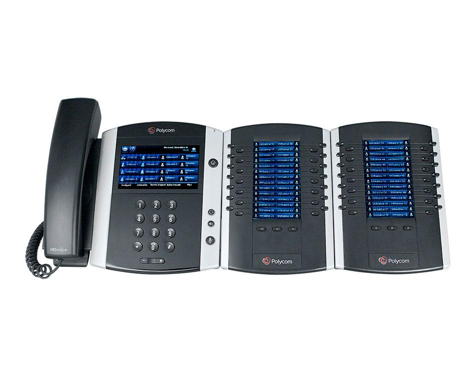 polycom vvx 600 3 modules