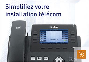 Une installation téléphonique pour vos téléphones IP