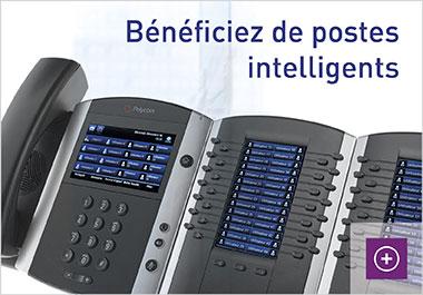 Des postes de téléphonie IP intelligents