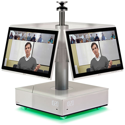 visio conference polycom real presence centro