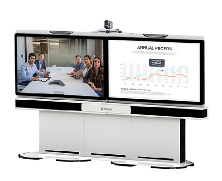 visio conference polycom real presence medialign