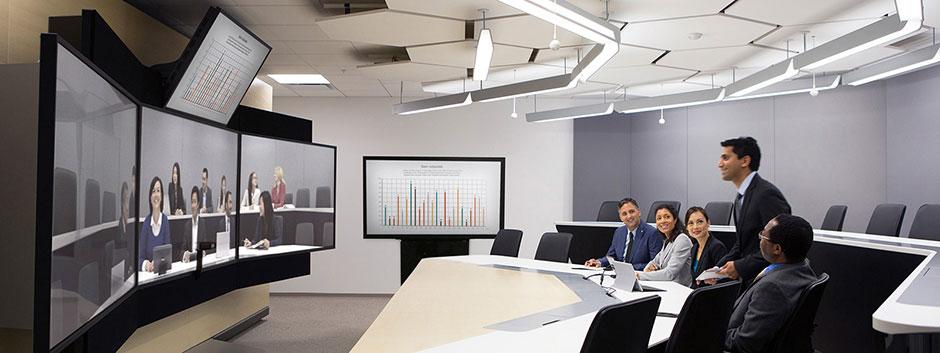 telepresence immersive polycom realpresence studio