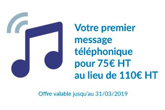 offre message telephonique